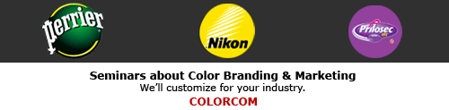 Color seminars for your organization - Colorcom