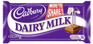 Purple Cadbury Trademark