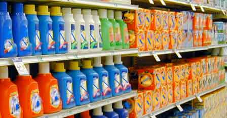 colors of laundry detergents