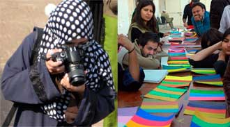 Color workshop in Pakistan