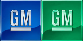 Changing the Colors of GM's Logo