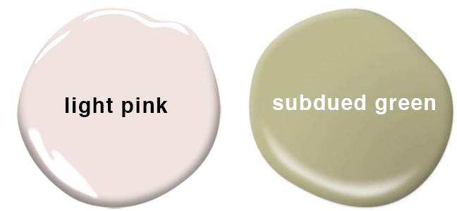 name these paint colors