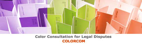 Color Consultation for Legal Disputes - Colorcom