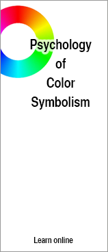 The Pychology of Color Symbolism - online course from color pro Jill Morton, author of Color Matters