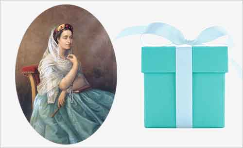 color trend tiffany 19century